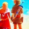 kanin: (Link & Zelda)