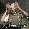 liz_marcs: Michael Palin in Monty Python Sketch Declairing That His Brain Hurts (Monty_Python_Brain_Hurts)