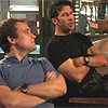 kisahawklin: John and Rodney kicking back (SGA: john/rodney kicking back)