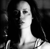flavia: A black-and-white photo of River Tam from Firefly. She looks rather serious. (Serious)