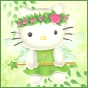 morineko: forest fairy Hello Kitty (literal morineko)