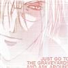 """veleda_k: Muraki from Yami no Matsuei. Text says, """"Just go to the graveyard and ask around."""" (Yami no Matsuei: Muraki is creepy)"""