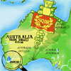sqbr: Asterix-like magnifying glass over Perth, Western Australia (australia 2)