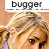 "orbitaldiamonds: Rose Tyler from DW, text: ""bugger"" ([ dr who ] rose: ""bugger"")"