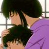 incandescentkitsune: (RK - Tomoe and Enishi - Hug)