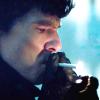 fastidious: Sherlock pensively lighting up a cigarette, (Sherlock - Pensive)