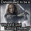 kyleri: Pirate King Elizabeth Swann, determined to be a wicked girl saving herself. (wicked)