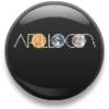 apollocon: Pin badge of the ApolloCon logo (ApolloCon Button)