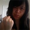 nova: Asian Pose #10, http://dailybooth.com/nova/506076 (me: fists, me: grr, me: fight)