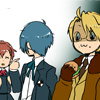 fools_journey: (hanging out with america and minako)