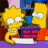 bossymarmalade: bart and lisa read a letter (that's a bran muffin)