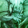 architeuthis: Cthulhu hiding his face (don't look at meeeeee)