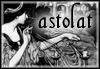 astolat: lady of shalott weaving in black and white (Default)