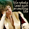 "sashajwolf: photo of Cally sleeping with caption ""we rebels lead such an exciting life"" (cally rebels)"