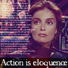aris_tgd: Action is eloquence. (Captain Lochley from Babylon 5.) (Lochley eloquence)