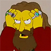 kalinichta: Alan Moore on the Simpsons (Angry Alan Moore)