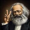 trotsky: Marx making a peace sign (marx, peace sign) (Default)