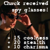 got_swagger: (CH:  Chuck - Spy Glasses!)