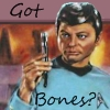 sharpest_asp: A painted picture of Bones McCoy (Star Trek: Bones McCoy)