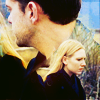 omg_wtf_yeah: Blended icon of Peter looking at Olivia outside. (Fringe - Olivia loves Peter)