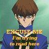 sarasusa: Icon made by me from Kokoro no Naka screencap, Yu-Gi-Oh! (kaiba trying to read)