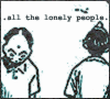 "hokuton_punch: An image of two masked kids from the manga 20th Century Boys, captioned ""all the lonely people."" (20th century boys lonely people)"