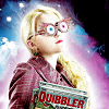 little_bones: harry potter's luna lovegood holding a copy of the quibbler magazine (hp luna quibbler)