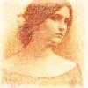 sunt: JW Waterhouse study of Lady Clare (waterhouse)