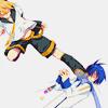 jevana: ([Vocaloid - Len + Kaito] TOTAL K.O.)
