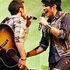 steffish: kradam singing at each other :D (kradam!!)