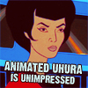 starfish: uhura is unimpressed (Unimpressed)