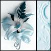azurite: (blue flower)
