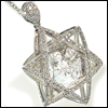 skywardprodigal: natural diamond star of david pendant (bling-david's proof)