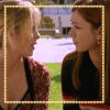 brightknightie: Buffy and Willow sit on a bench outdoors at Sunnydale high on a sunny day. (Other Fandom Buffyverse)