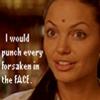 varadia: (punching Forsaken)