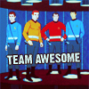 sink_or_swim: GO TEAM AWESOME FOR GREAT JUSTICE (TEAM AWESOME // st: tas)