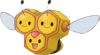 coloredbees: combee from pokemon (:D, combee, let me show you them, pokeymans)