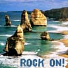 "lilacsigil: 12 Apostles rocks, text ""Rock On"" (12 Apostles)"