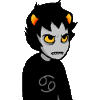 crabbycustomer: Karkat rolling his eyes and looking very put-upon (DEFEATED)