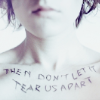 cridecoeur: (don't let it tear us apart)