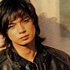 ginger001: (jun leather jacket)