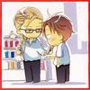 okaeshi: The boy who has a wardrobe full of megane (chigakokusai)
