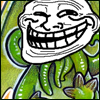 architeuthis: happy Cthulhu with trollface (the Trolling Chaos)