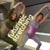 intransitive: (futuristic stretching)
