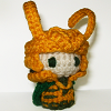 duaedesigns: Photo of crochet Loki doll (Loki)