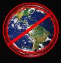 """seryn: globe surrounded by red slashed circle. """"no world"""" (locked, no world, no sharing, no)"""