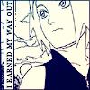 kaigou: (2 earned my way out)