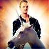 xanna: (nph and his fuckin' unicorn)