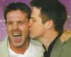 camshaft22: Ben and Michael kiss (Kisses)