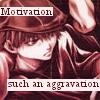 "veleda_k: Goku from Saiyuki. Text says, ""Motivation, such an aggravation."" (Saiyuki: I'm lazy)"